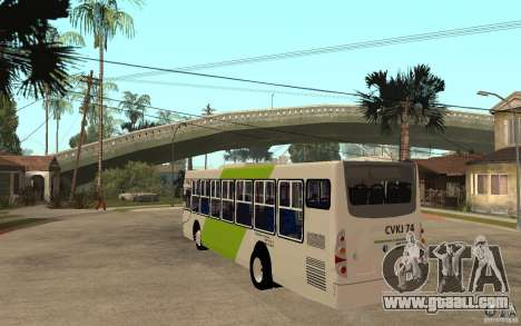 Caio Induscar Mondego Transantiago for GTA San Andreas back left view