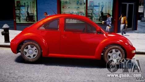 Volkswagen New Beetle 2003 for GTA 4 back view