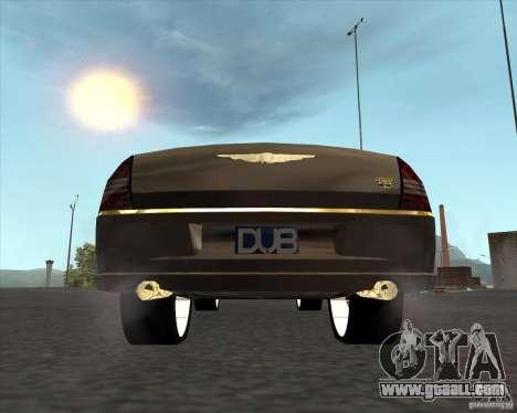 Chrysler 300C dub edition for GTA San Andreas back left view