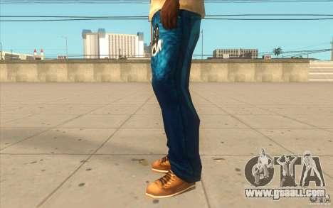 Remix-Evisu-Joker-Burberry Hose for GTA San Andreas second screenshot