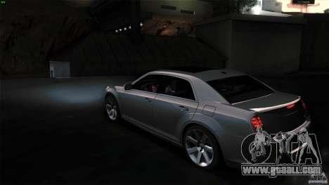 Chrysler 300C V8 Hemi Sedan 2011 for GTA San Andreas right view