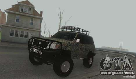 Toyota Land Cruiser 100 Off Road for GTA San Andreas