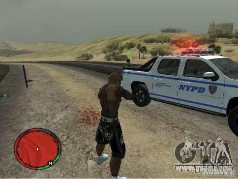 GTA IV HUD v1 by shama123 for GTA San Andreas third screenshot