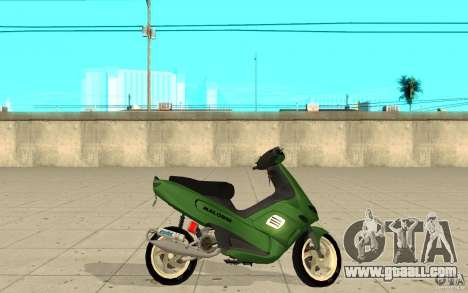 Gilera Runner 50SP Skin 4 for GTA San Andreas left view