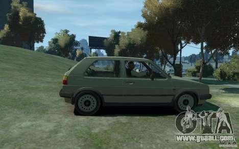 Volkswagen Golf II GTI for GTA 4 back left view