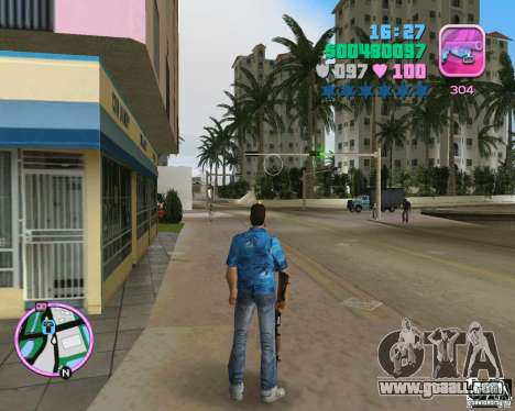 Skin from the BETA version for GTA Vice City second screenshot
