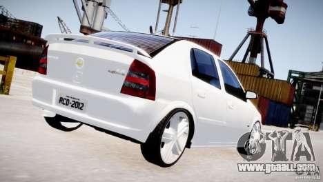 Chevrolet Astra Advantage 2009 for GTA 4 right view