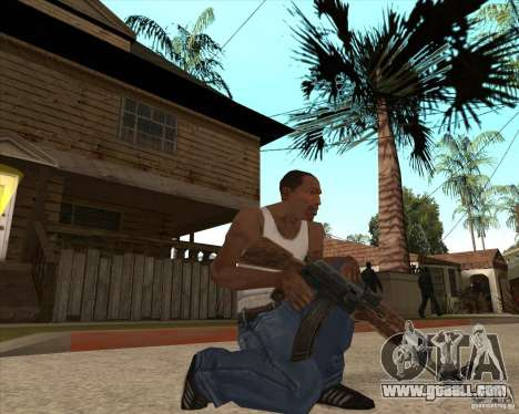 CoD:MW2 weapon pack for GTA San Andreas forth screenshot