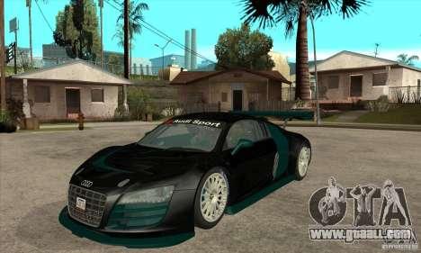 Audi R8 LMS for GTA San Andreas