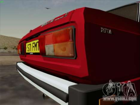 Lada 2105 RIVA (export) 2.0 for GTA San Andreas inner view