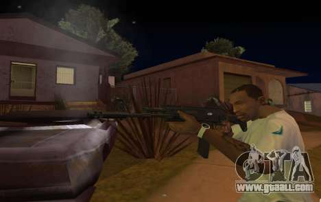 AK-12 for GTA San Andreas third screenshot