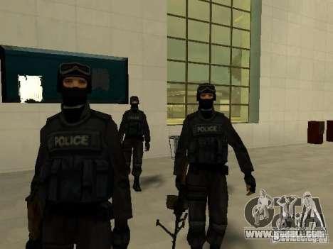 Help Swat for GTA San Andreas third screenshot