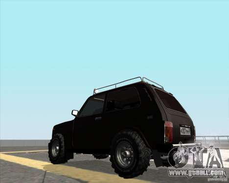VAZ 21213 Offroad for GTA San Andreas left view