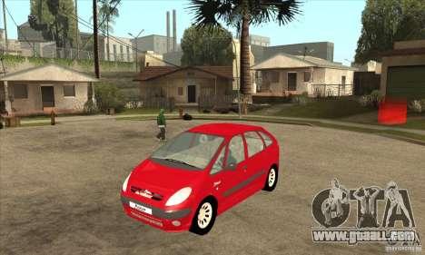 Citroen Xsara Picasso for GTA San Andreas