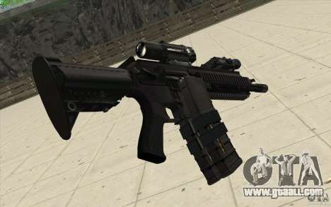 HK416 rifle for GTA San Andreas second screenshot