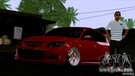 Mazda Speed 3 for GTA San Andreas left view