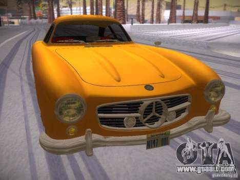 Mercedes-Benz 300SL for GTA San Andreas right view
