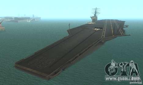 CVN-68 Nimitz for GTA San Andreas