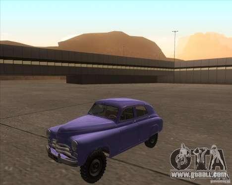 GAZ M72 for GTA San Andreas