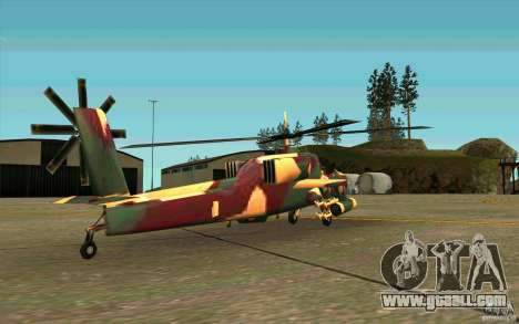 Hunter Armee Look for GTA San Andreas right view