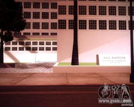 All Saints Hospital for GTA San Andreas second screenshot