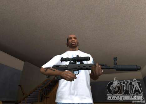 Weapon Pack by viter for GTA San Andreas ninth screenshot