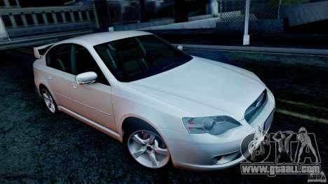 Subaru Legacy 2004 v1.0 for GTA San Andreas wheels