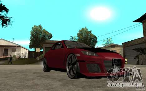Mazda RX-8 Time Attack JDM for GTA San Andreas back view