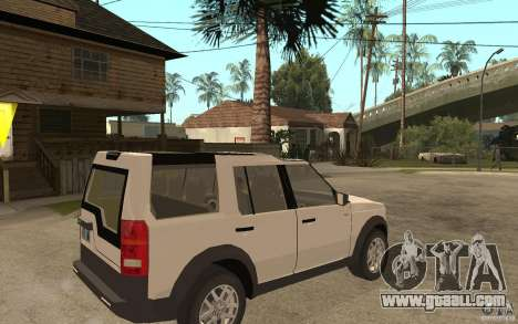 Land Rover Discovery 3 V8 for GTA San Andreas right view