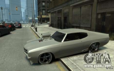 Chevrolet Chevelle SS Tuning 1970 for GTA 4 left view