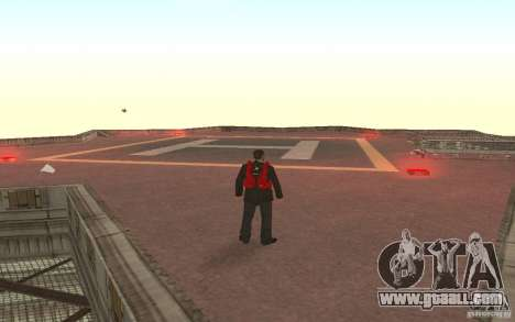 Global fashion parachute for GTA San Andreas second screenshot