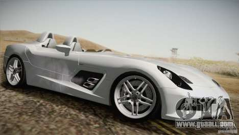 Mercedes-Benz SLR Stirling Moss 2005 for GTA San Andreas bottom view