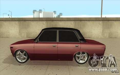 Vaz 2106 Lada for GTA San Andreas left view
