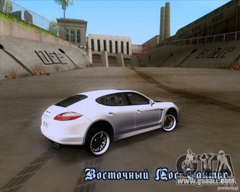 Porsche Panamera 970 Hamann for GTA San Andreas side view