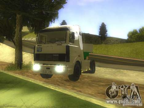 MAZ 5432 Turbo for GTA San Andreas