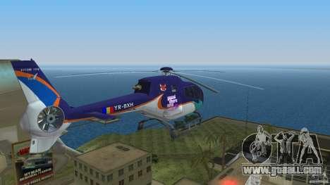 Eurocopter Ec-120 Colibri for GTA Vice City inner view