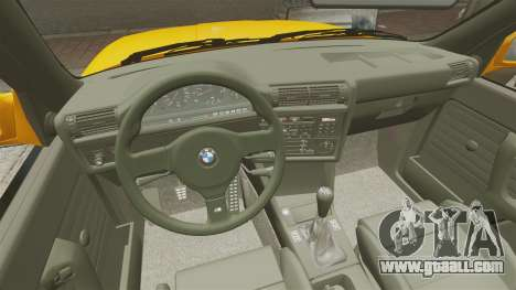 BMW M3 E30 v2.0 for GTA 4 upper view