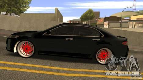 Acura TSX Doxy for GTA San Andreas left view