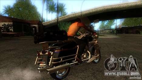 Harley Davidson for GTA San Andreas right view