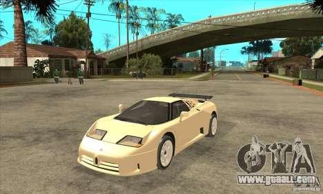 Bugatti EB110 SS 1992 for GTA San Andreas