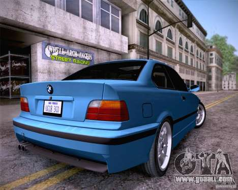 BMW M3 E36 1995 for GTA San Andreas left view
