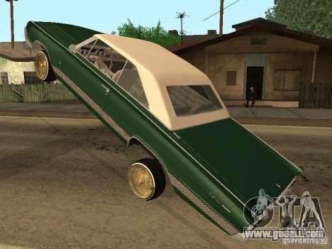Mercury Park Lane Lowrider for GTA San Andreas back view