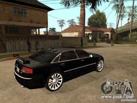 Audi A8 Tuned for GTA San Andreas right view