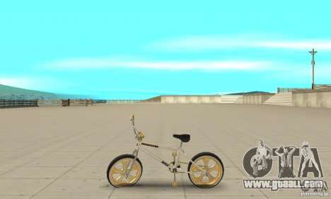 Spin Wheel BMX v2 for GTA San Andreas left view