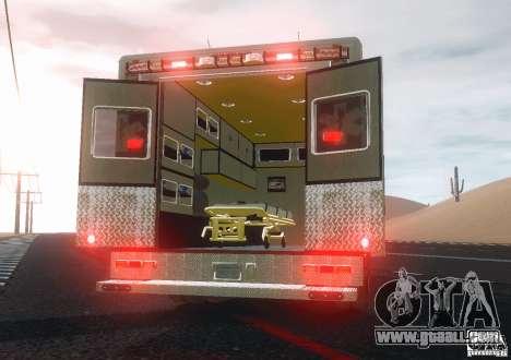 Ford F350 FDLC Ambulance v3.0 ELS for GTA 4 right view