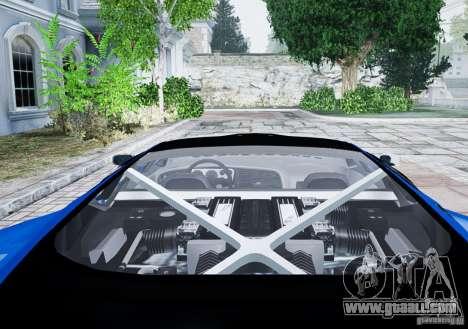 Jaguar XJ 220 for GTA 4 back view