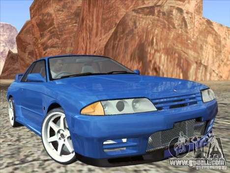 Nissan Skyline GT-R 32 1993 for GTA San Andreas right view