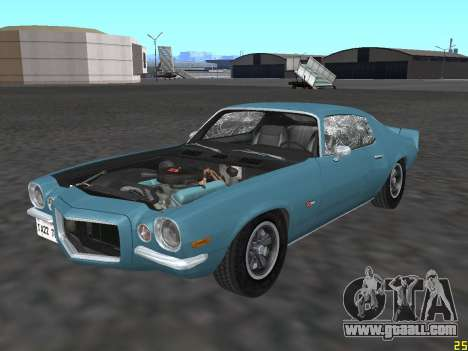 Chevrolet Camaro Z28 1971 for GTA San Andreas side view
