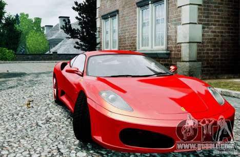 Ferrari F430 for GTA 4 right view