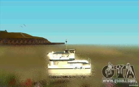 Ferry for GTA San Andreas left view